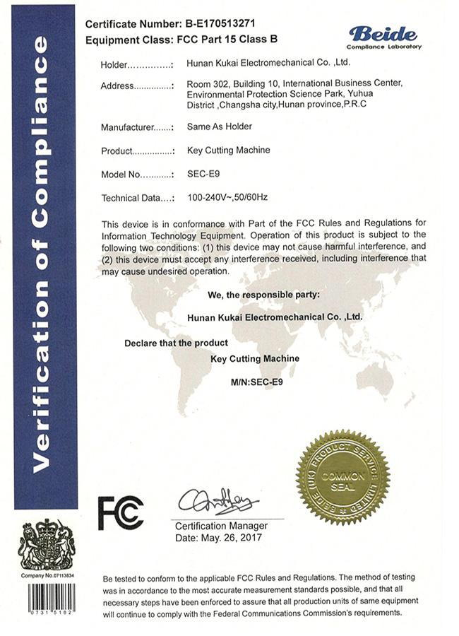 FCC 认证 -650x900