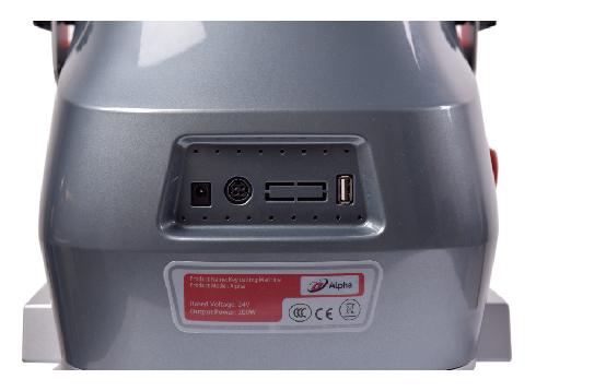 Full Automatic Locksmith Tools Duplicate KUKAI Alpha Key Cutting Machine