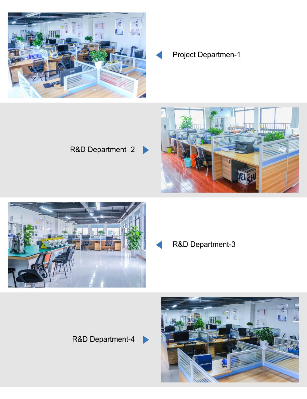 Product Development Department 研发部3