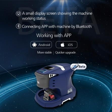 Beta key machine