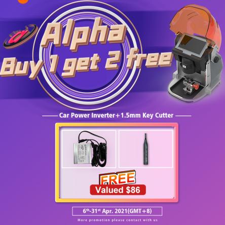 Alpha key machine