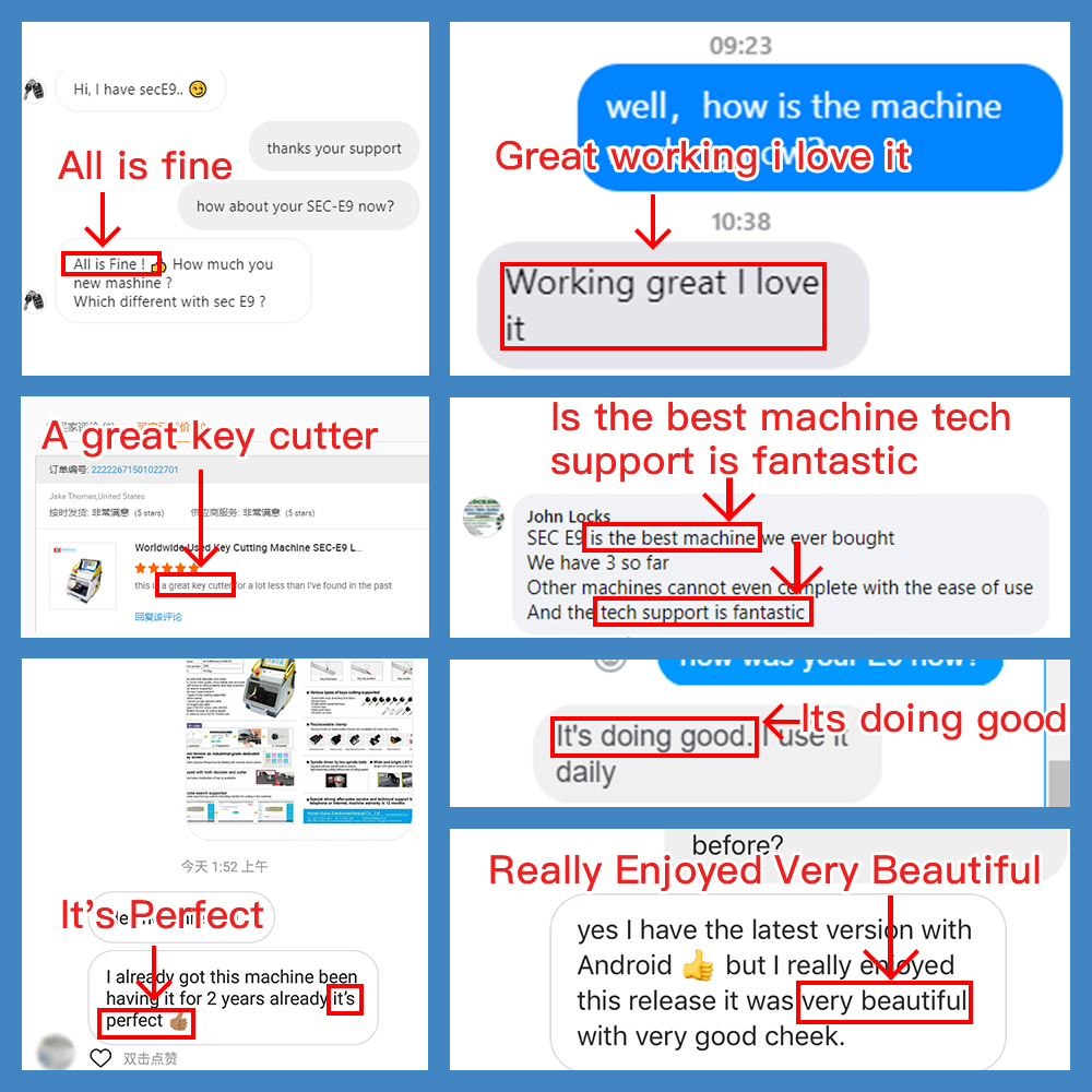 KUKAI SEC-E9 customers feedback-2