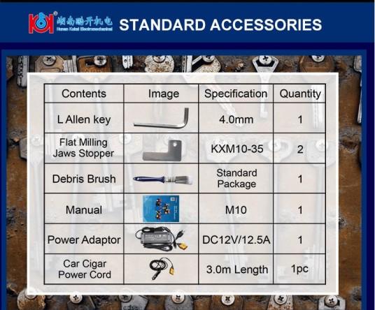 M10 standard package