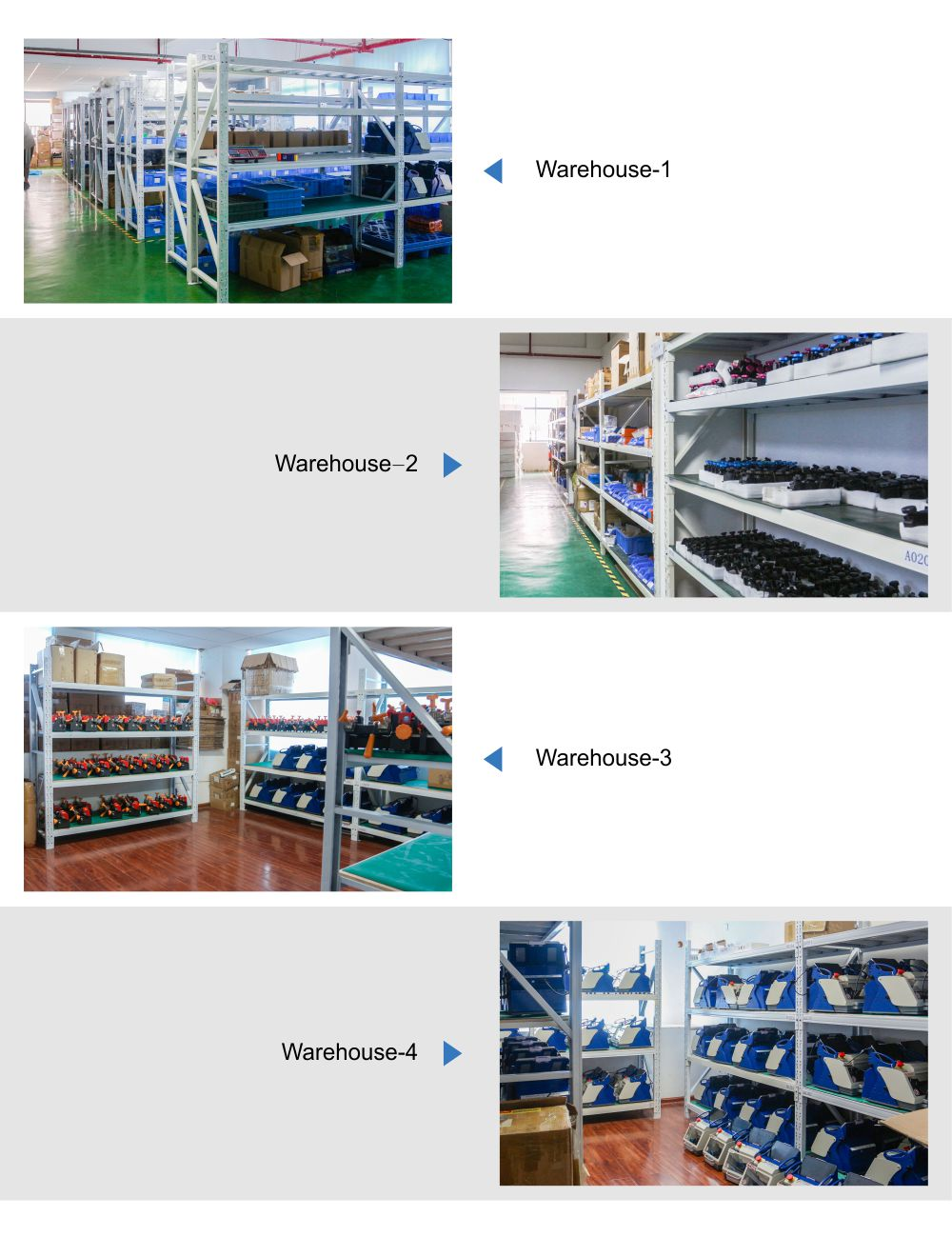 Warehouse of Suoyouche 仓库