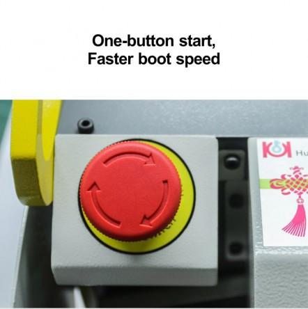 one-button start